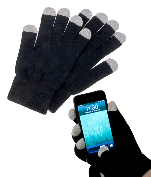 gants pour telephone tactile