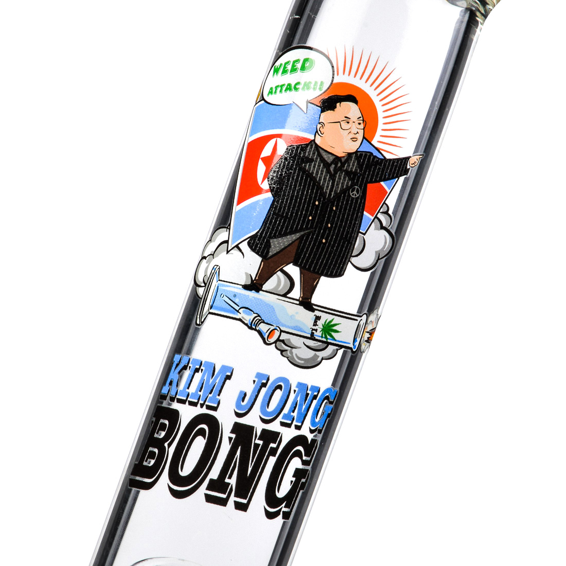 BANG EN VERRE KIM JONG BONG 40CM