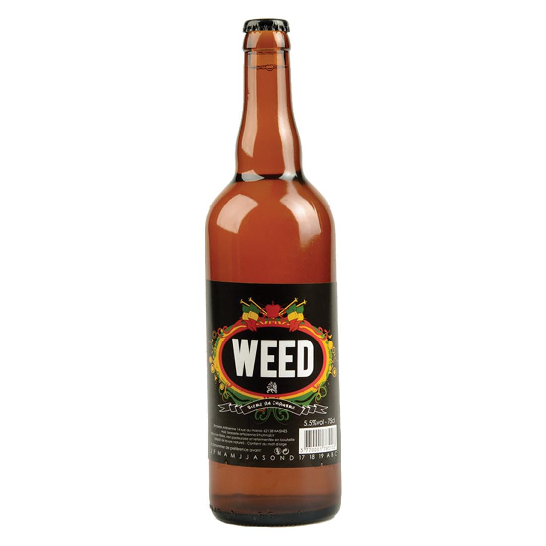 BIERE WEED 75CL