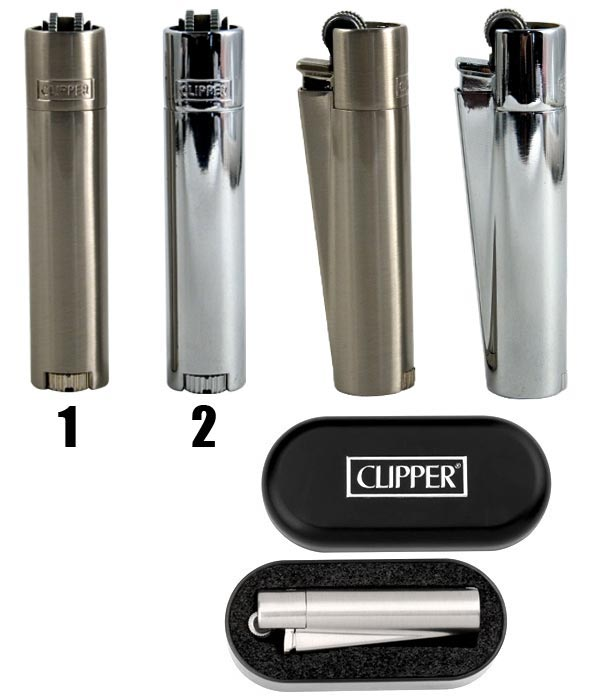 briquet clipper metal