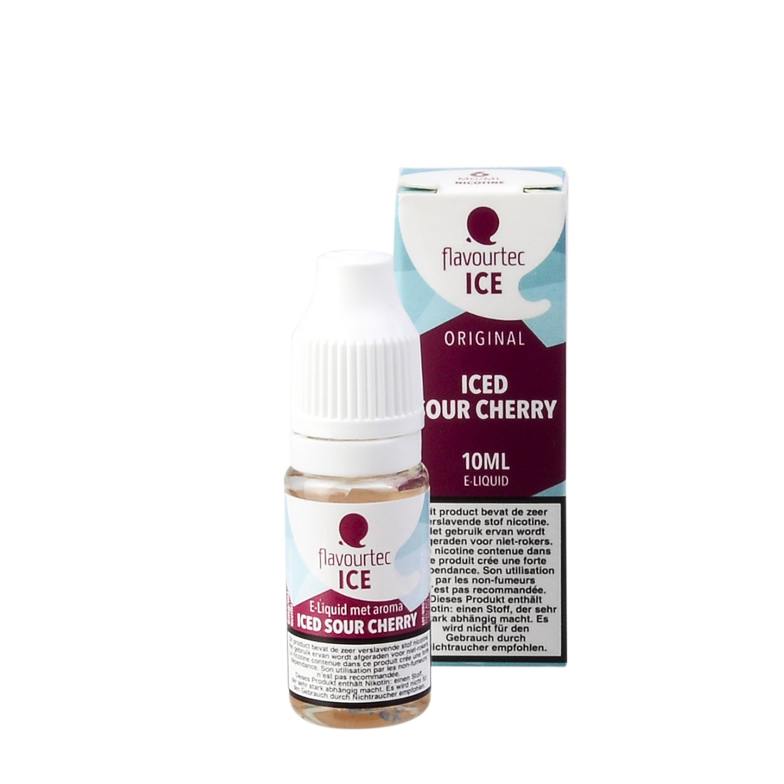 E-LIQUIDE FLAVOURTEC ICED SOUR CHERRY