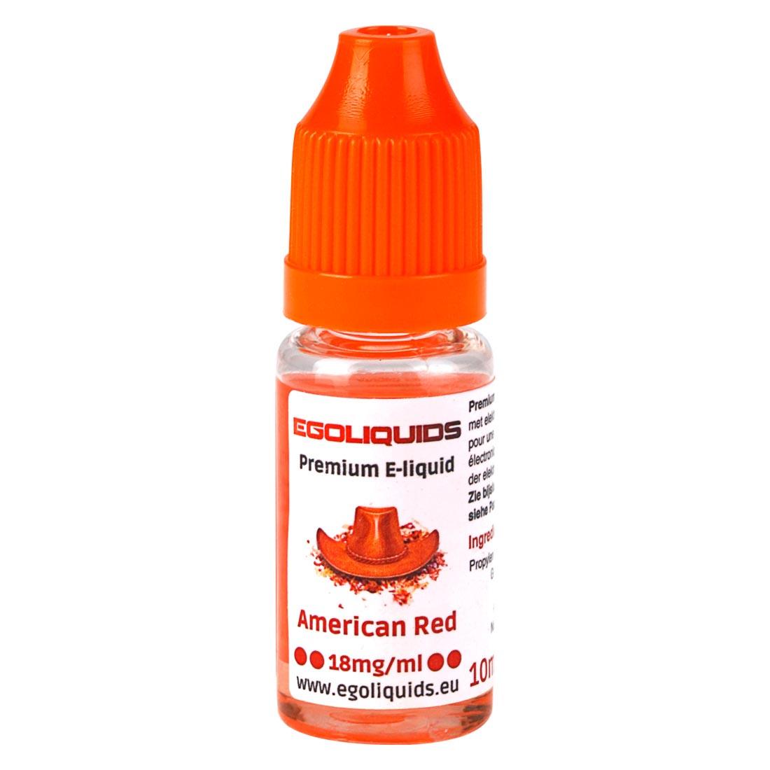 e liquide american red