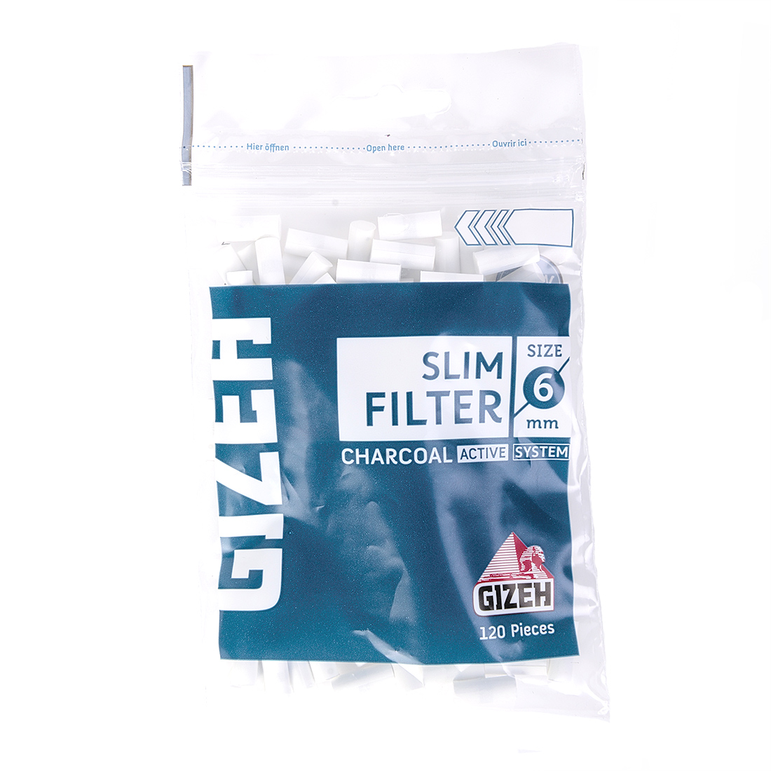 filtre gizeh charbon 6mm