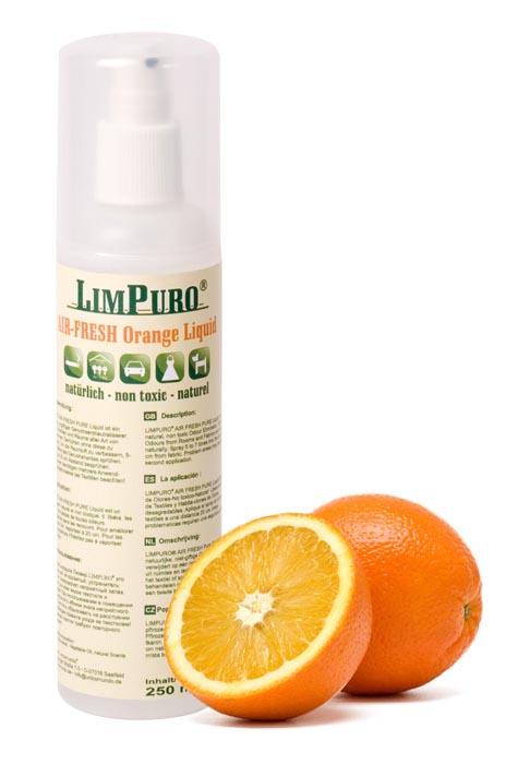 acheter limpuro air fresh orange liquid