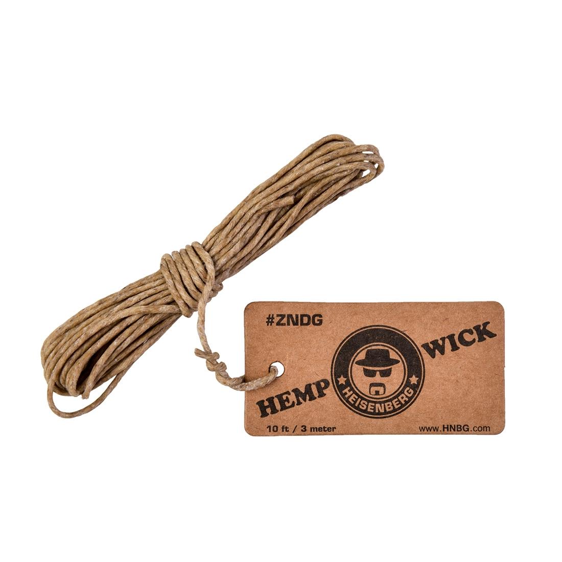 raw hemp wick