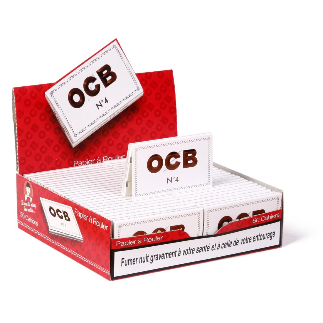 ocb numéro 4 blanc