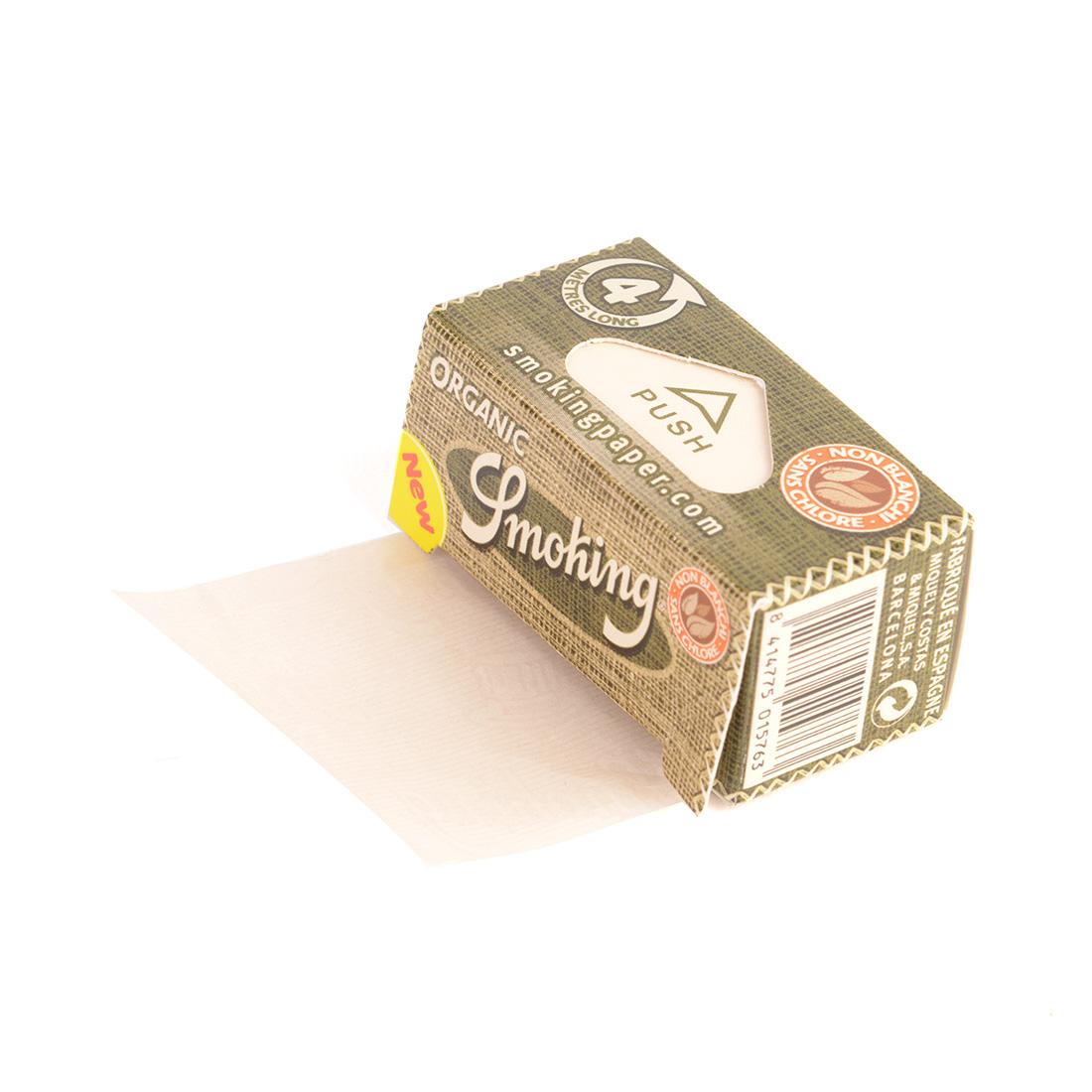 rouleau de papier non blanchi