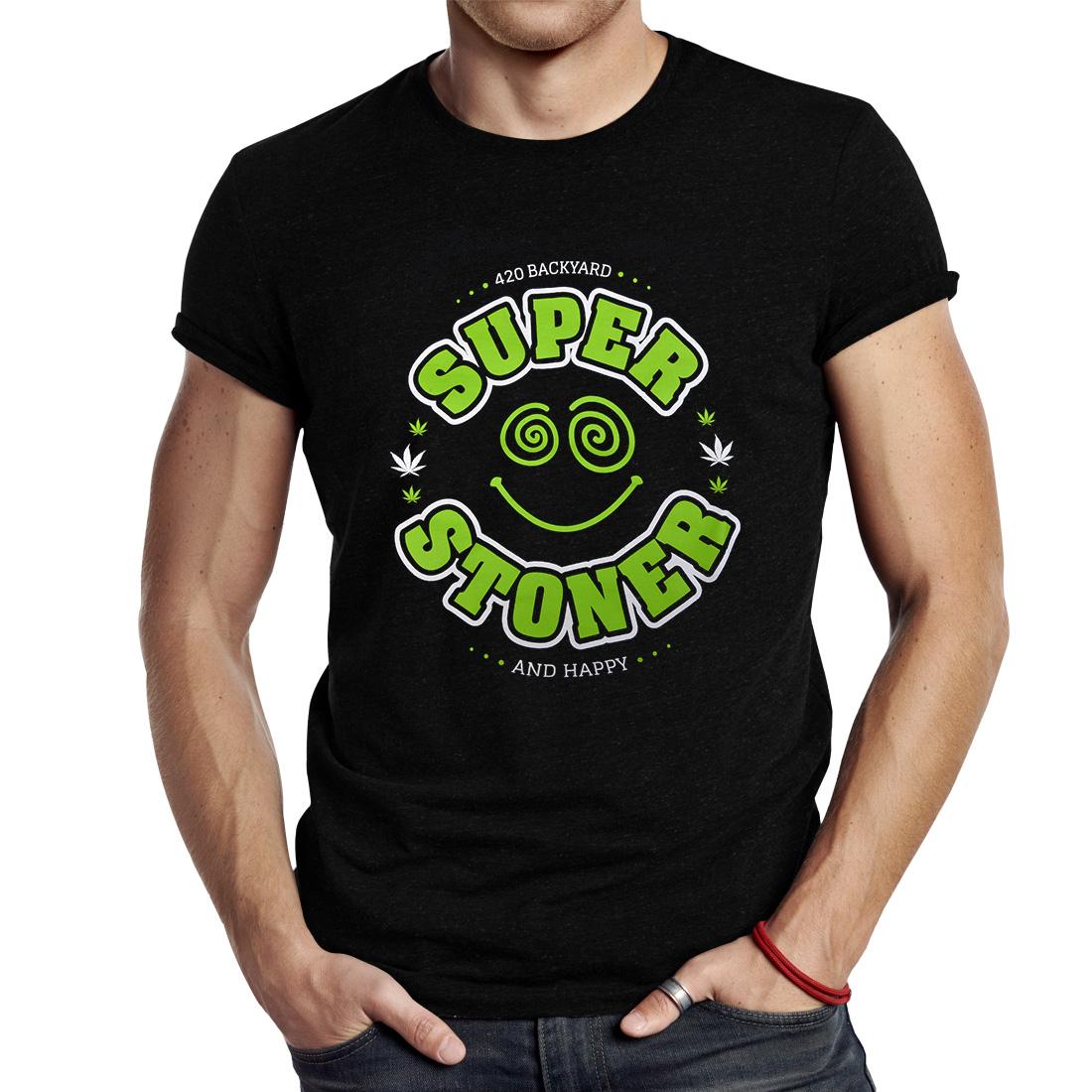 T-SHIRT 420 SUPER STONER