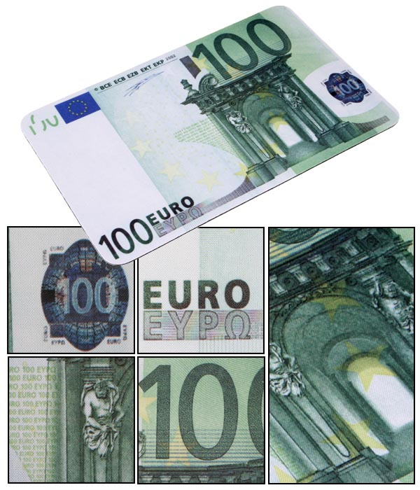 Tapis de souris euros