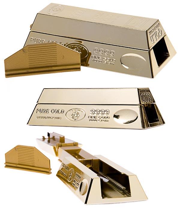 tubeuse lingot d'or