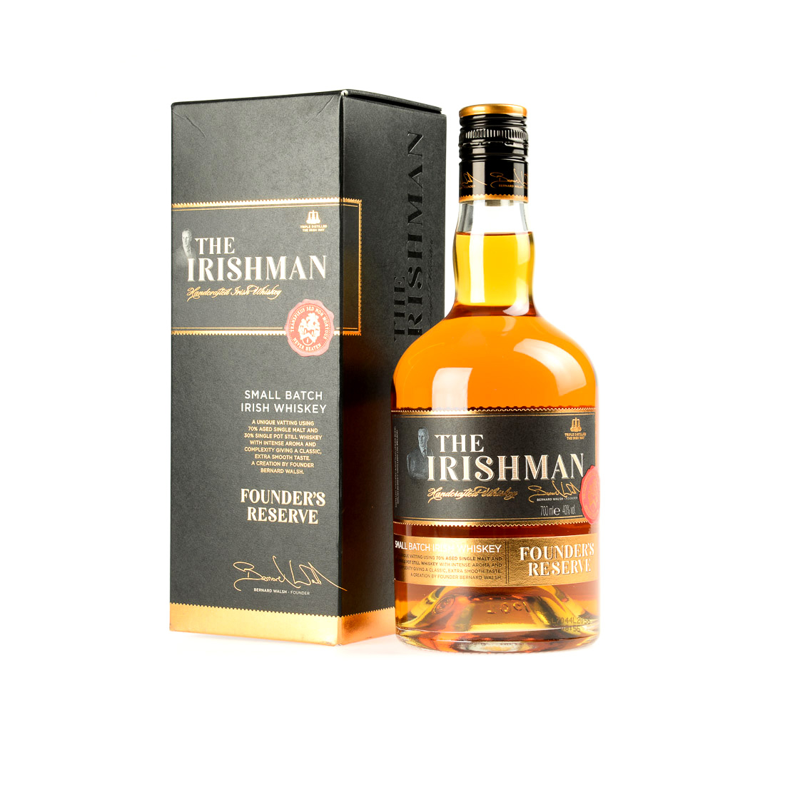 WHISKY THE IRISHMAN FOUNDER RESERVE 70CL