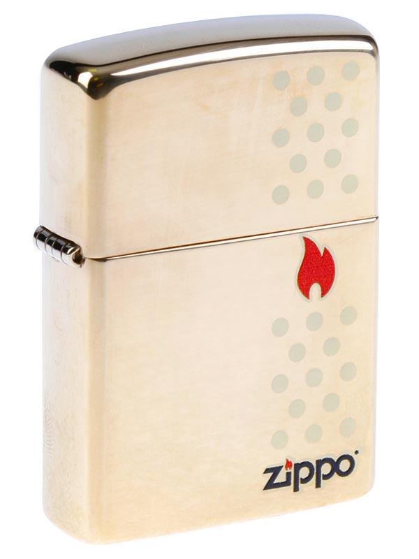 ZIPPO GOLD CHIMNEY
