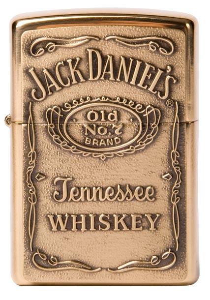 Zippo Jack daniel's label gold