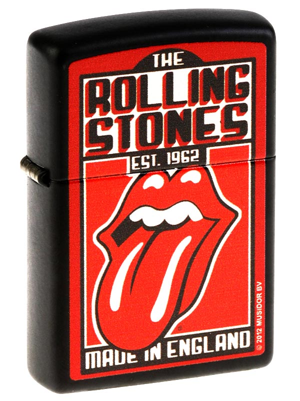 zippo rolling stones made in england