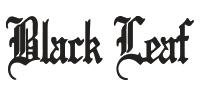 Logo Marque Black leaf