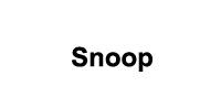 Logo Marque SNOOP