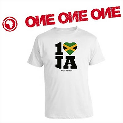 T-SHIRT ONE LOVE JAMAICA