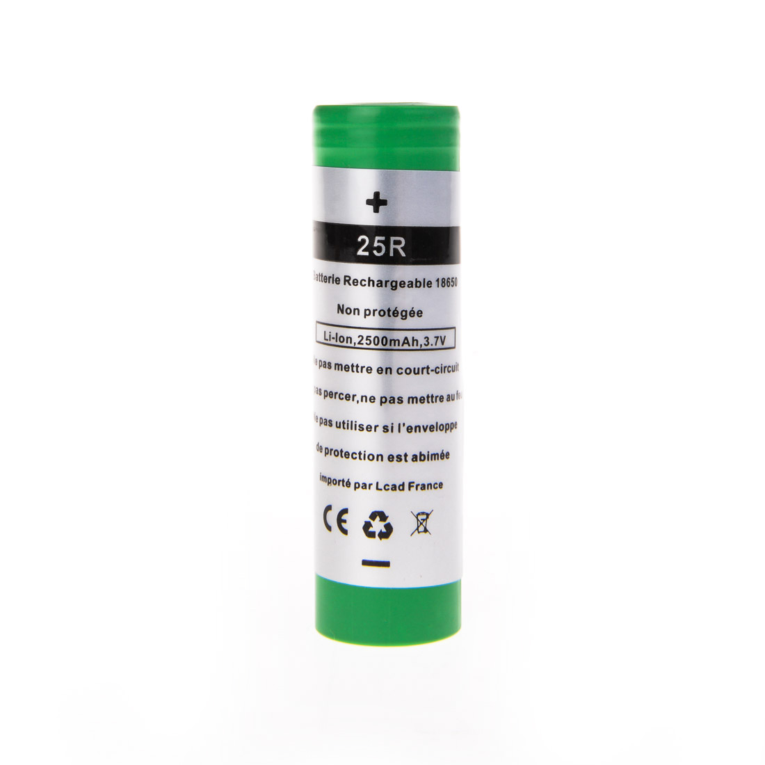 Batterie Mod samsung 18650 2500mah