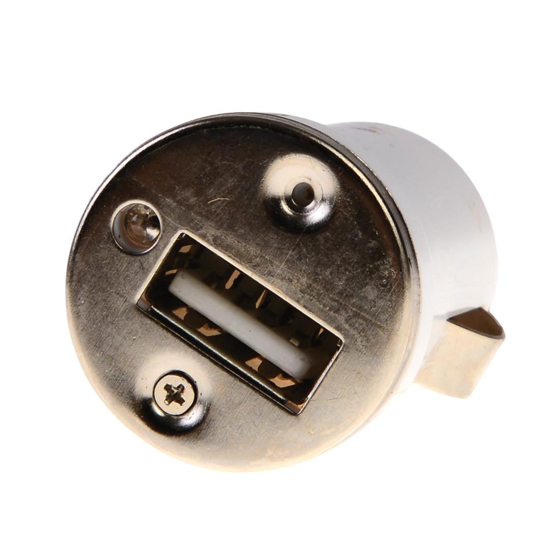 adaptateur allume cigare USB blanc