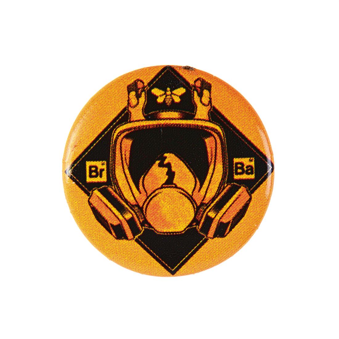 badge masque à gaz Breaking Bad