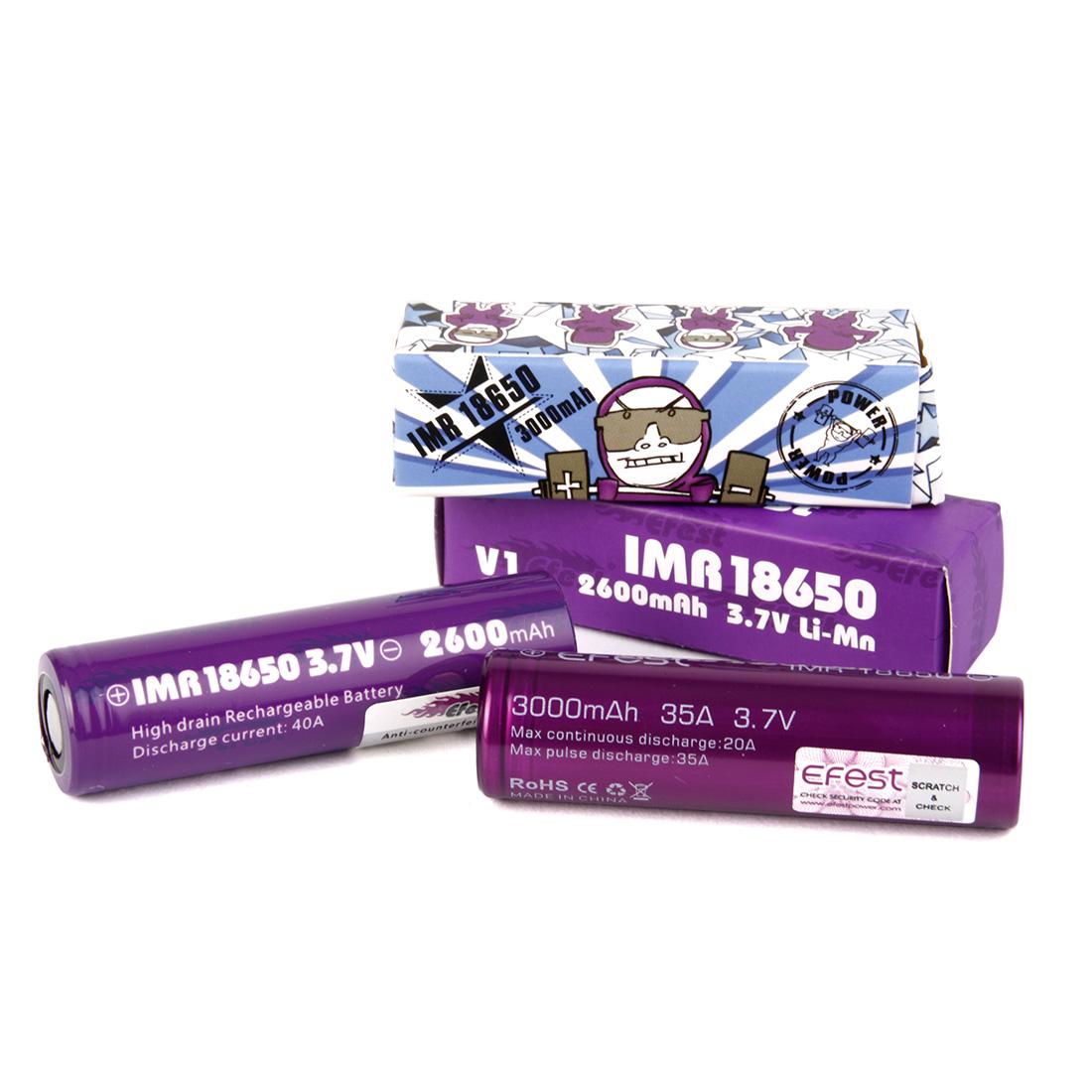 Batterie Mod efest 18650 2500mah