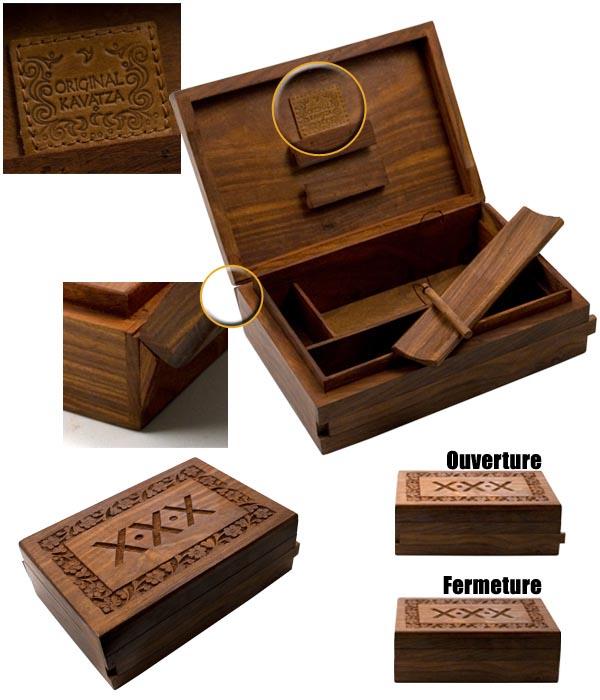 Acheter Boite Artisanal De Rangement Original Kavatza Boites En Bois