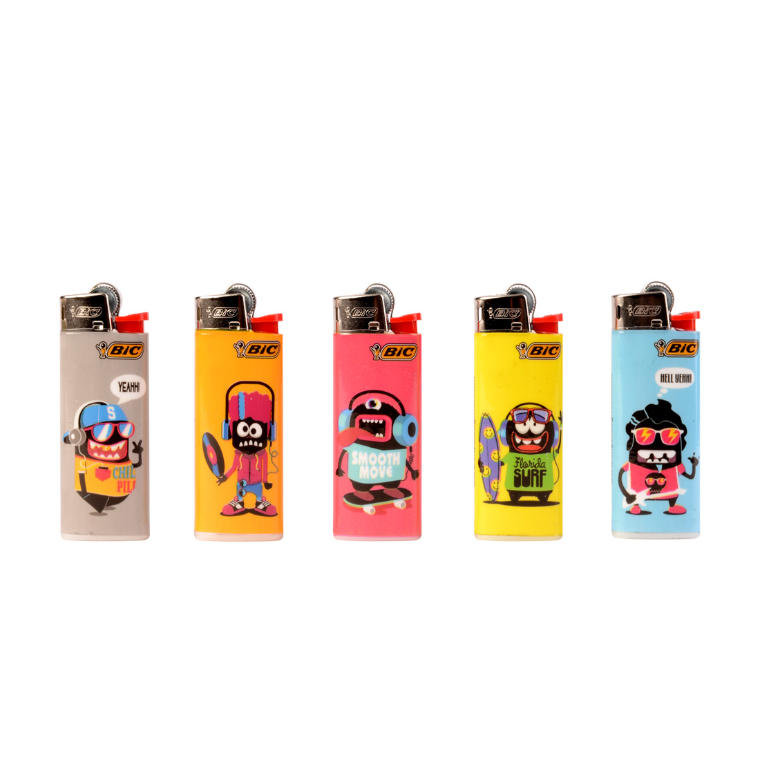 briquet bic mini monster