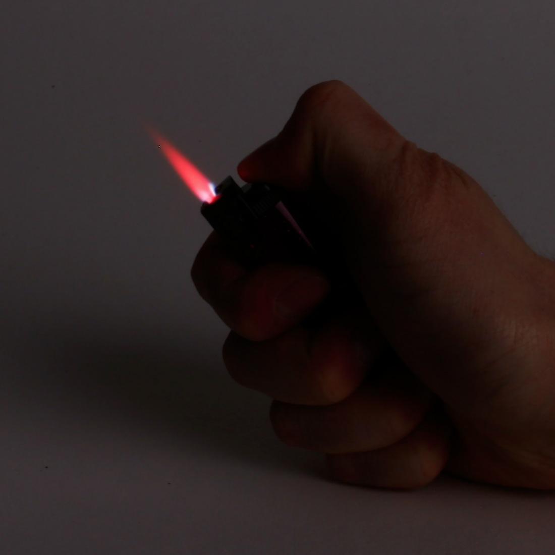 briquet tempete flamme rouge