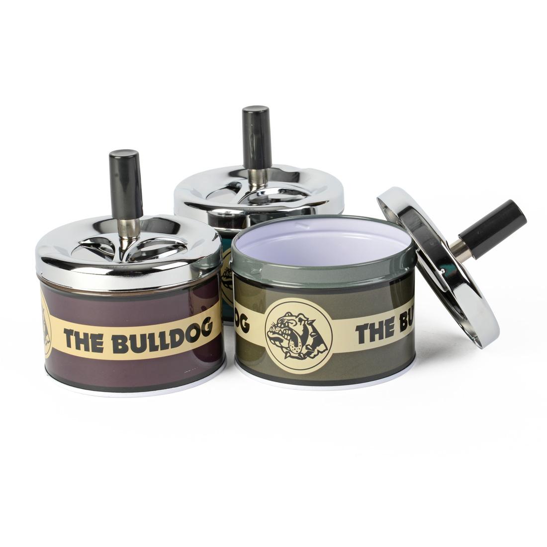 cendrier the bulldog poussoir
