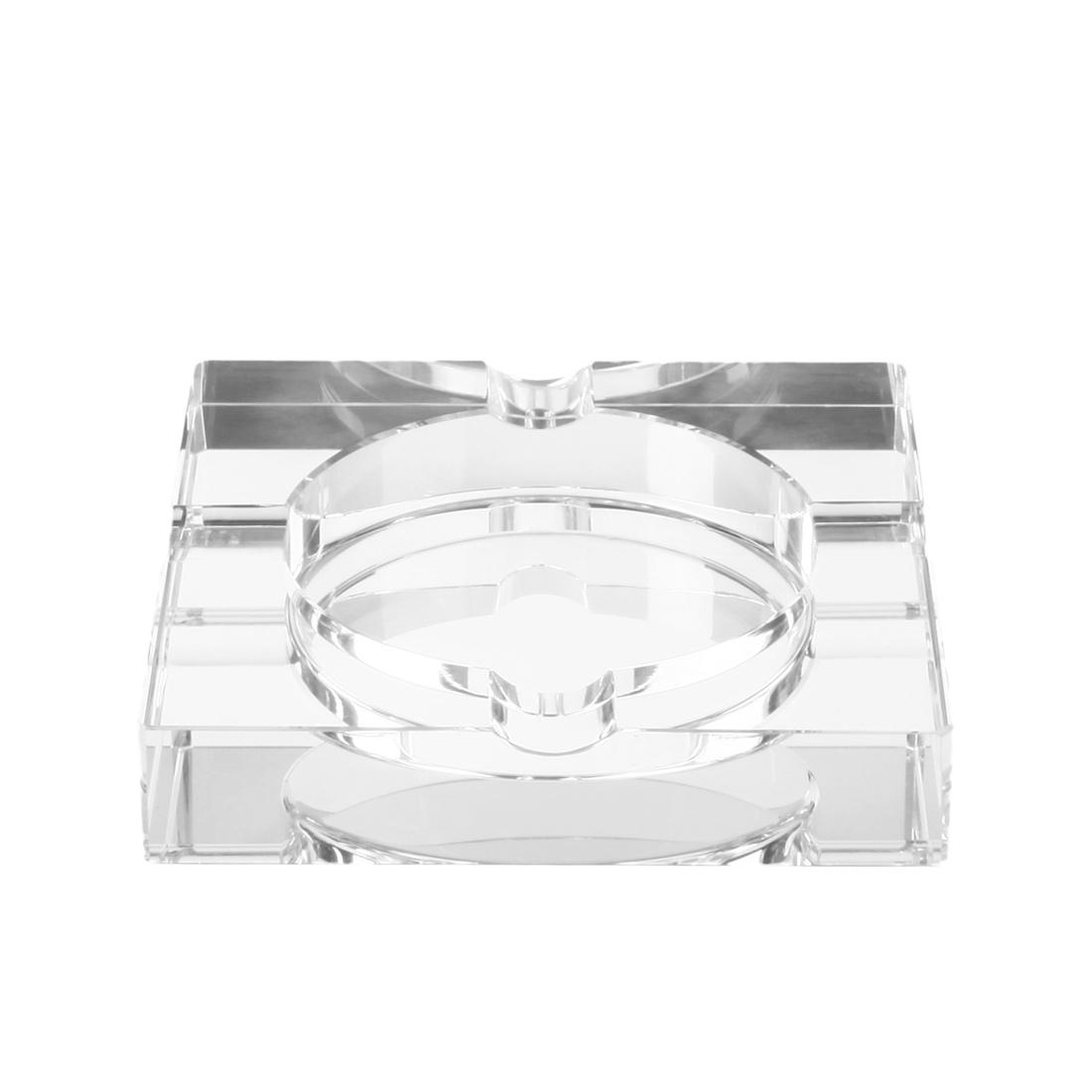 cendrier en verre miroir