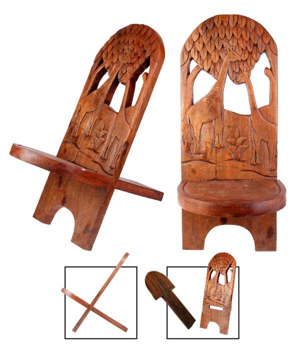 chaise a palabre acheter boutique chaise en bois deco africaine achat divers. Black Bedroom Furniture Sets. Home Design Ideas