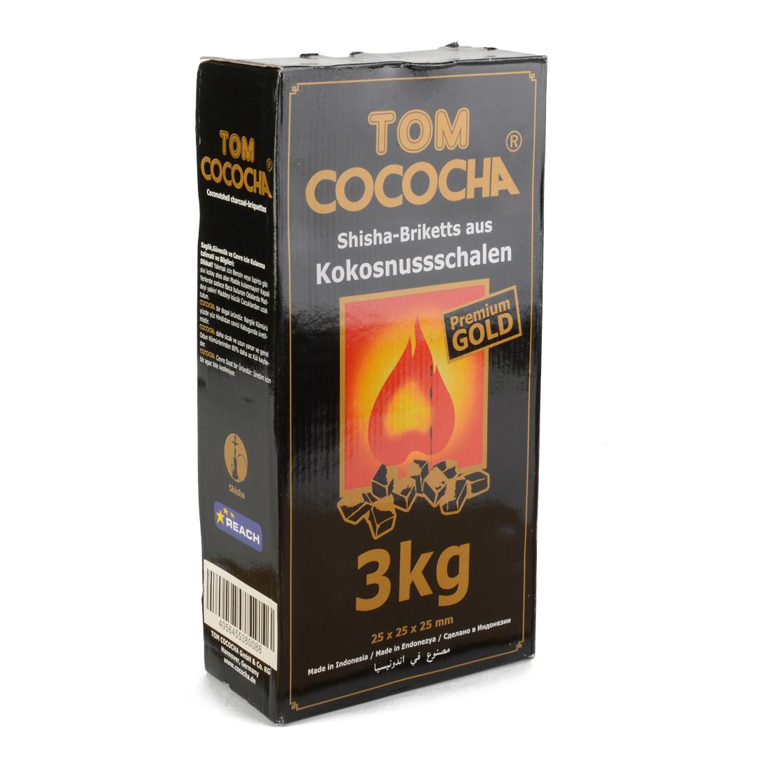charbon cococha naturel 3kg premium gold