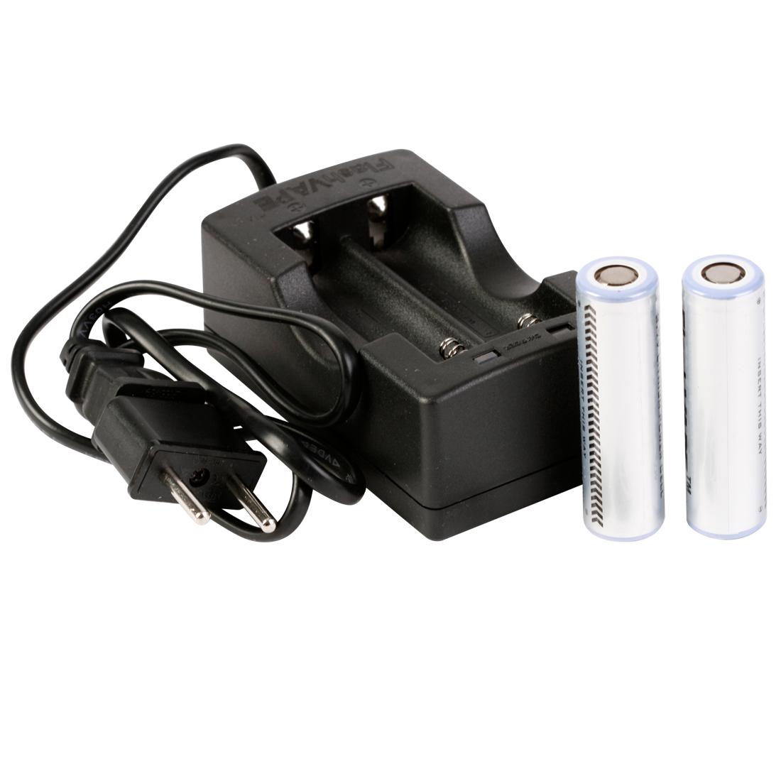 chargeur Double Stage-2 pour FlashVape