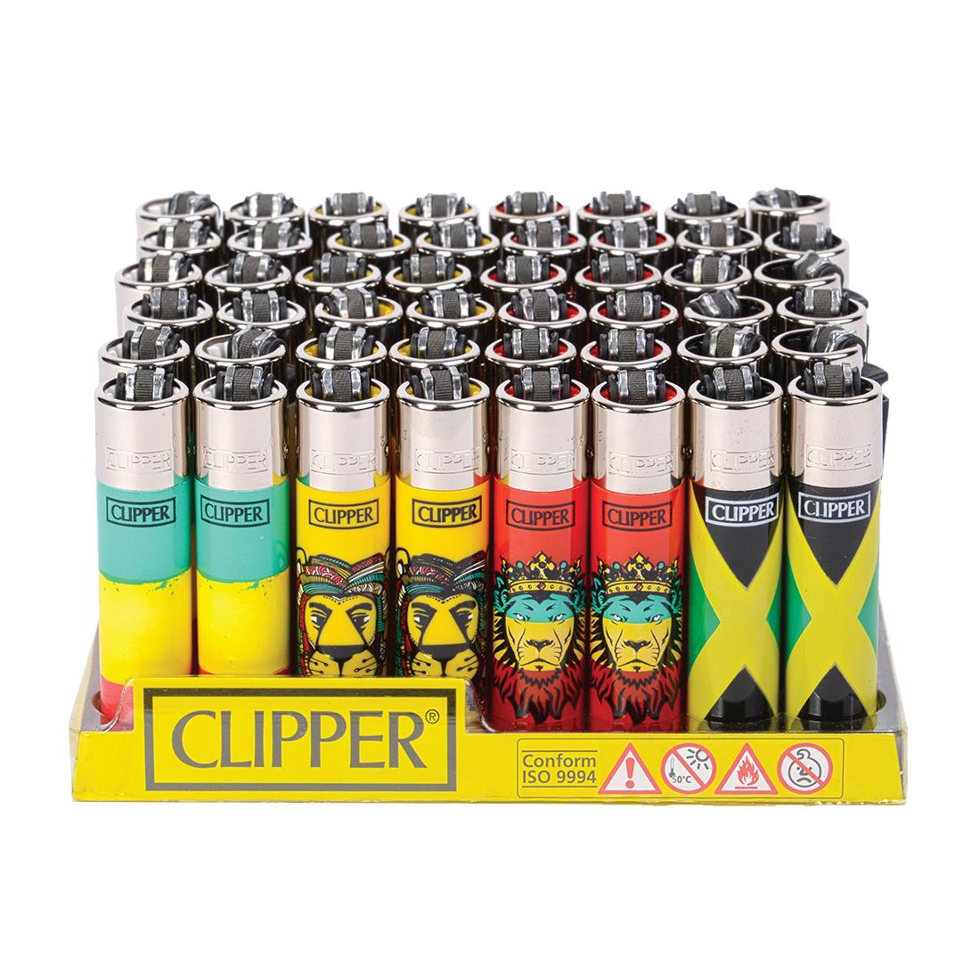 briquet clipper reggae x48