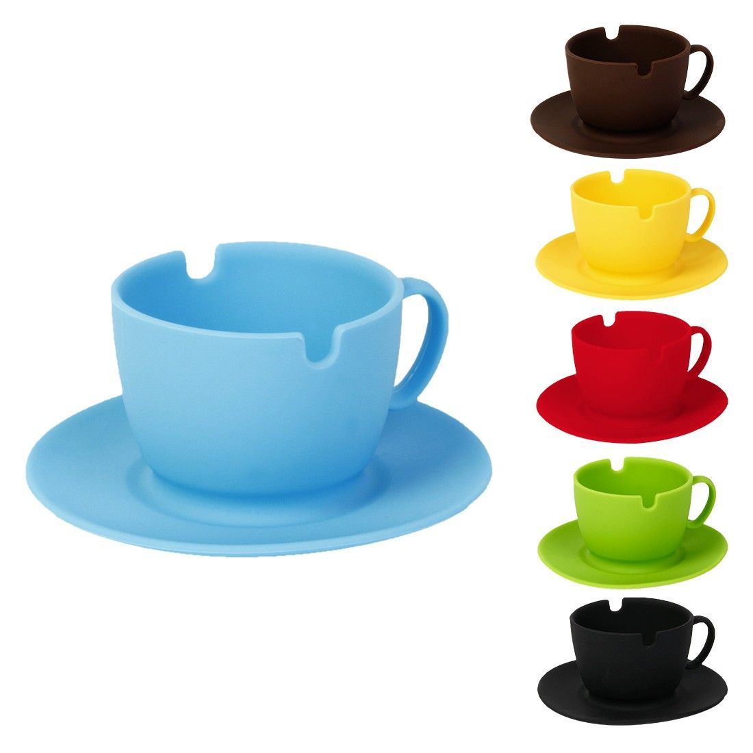 cendrier silicone tasse a caf cendrier original pas. Black Bedroom Furniture Sets. Home Design Ideas
