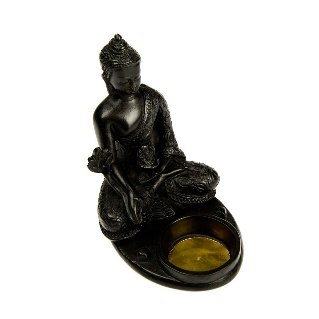 Porte encens bougeoir buddha disponible sur s factory for Porte encens