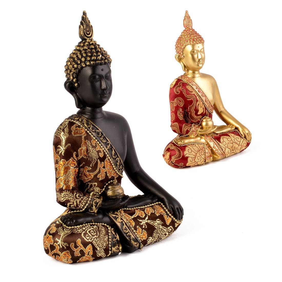 statuette bouddha thai artisanat du monde d co pas. Black Bedroom Furniture Sets. Home Design Ideas
