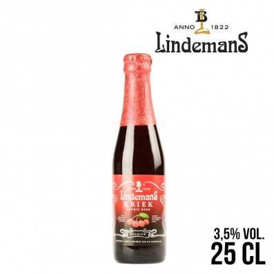 BIERE LINDEMANS KRIEK 25CL