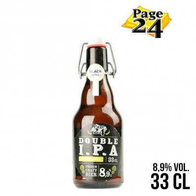 BIERE PAGE 24 DOUBLE IPA 33CL