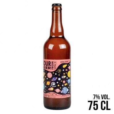 BIERE SOUR BEER FROM SPACE 75CL