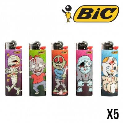BRIQUET BIC HORROR X5