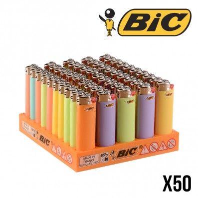BRIQUET BIC PASTEL X50