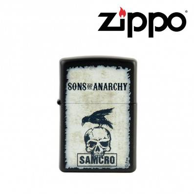 BRIQUET ZIPPO SONS OF ANARCHY SAMCRO