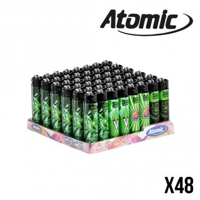 BRIQUET ATOMIC LEAF GREENLIFE X48