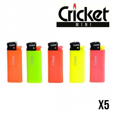BRIQUET CRICKET MINI FLUO X5
