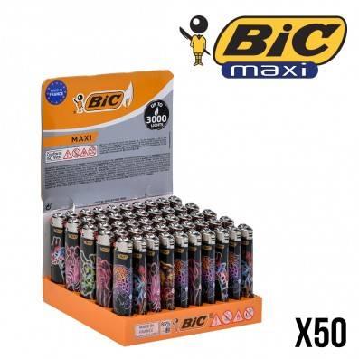 BRIQUETS BIC NEON ANIMALS X50