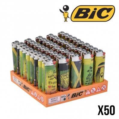 BRIQUETS BIC REGGAE JUST RELAX X50