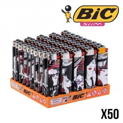 BRIQUETS MISS BIC SLIM GLAMOUR X50