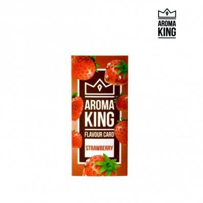 CARTE AROMA KING FRAISE