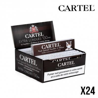 CARTEL FEUILLES EXTRA LONGUES + TIPS X24